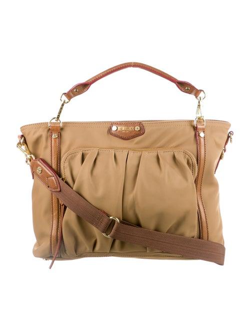 MZ Wallace Nylon Shoulder Bag Brown