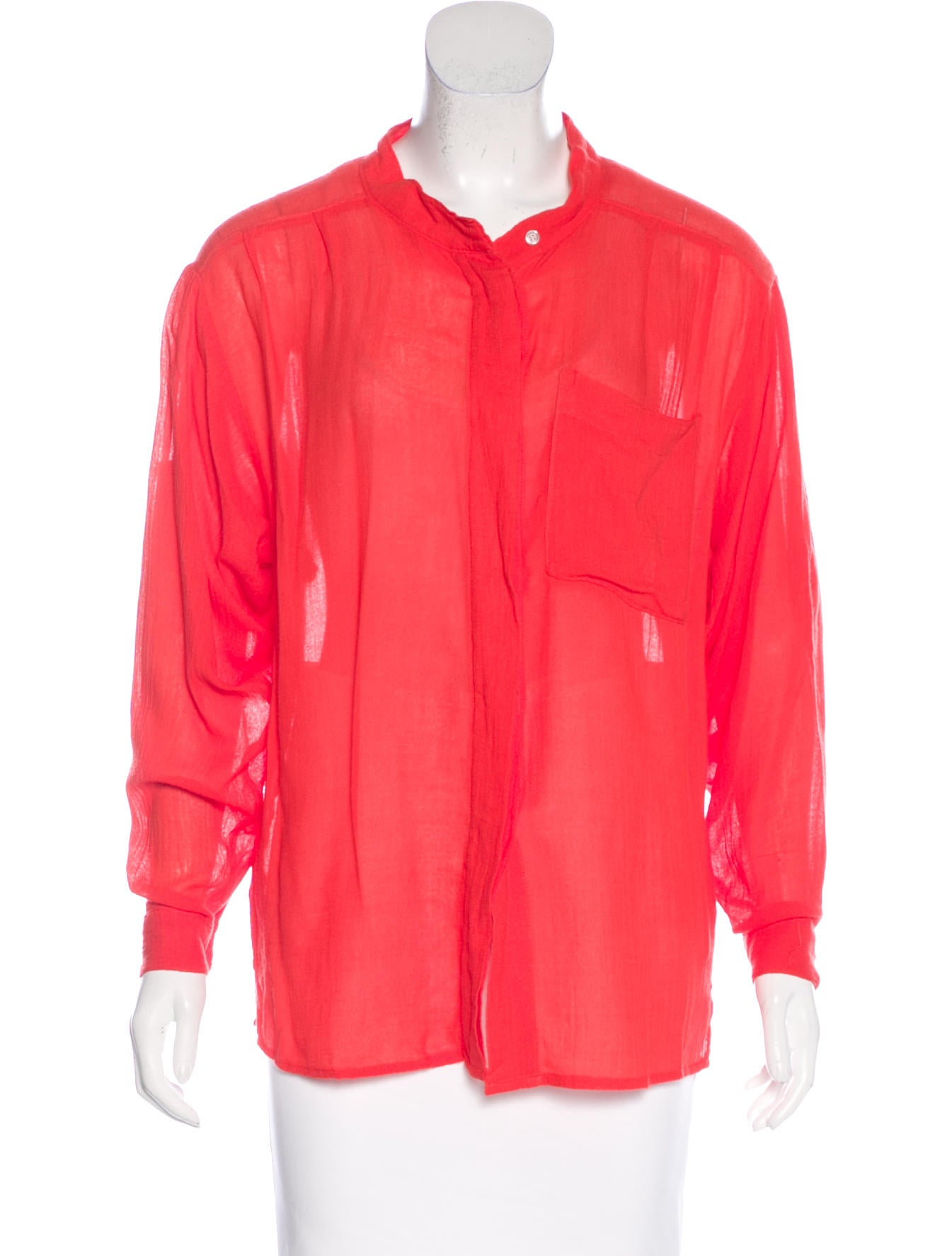 Nsf bamboo button up top w tags clothing wn020268 for Bamboo button down shirts