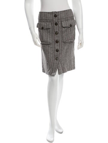 Magaschoni Knit Knee-Length Skirt None