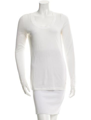 Magaschoni Long Sleeve Top None
