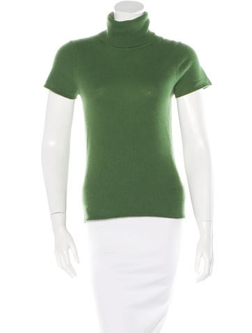 Magaschoni Cashmere-Blend Turtleneck Top None
