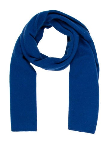 Magaschoni Cashmere Knit Scarf None