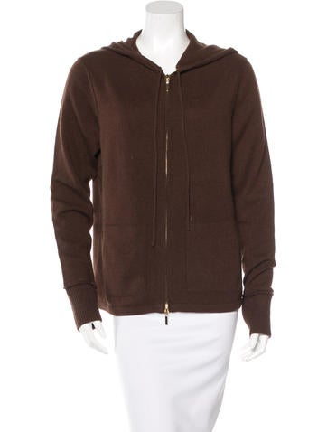 Magaschoni Cashmere Hooded Sweatshirt None