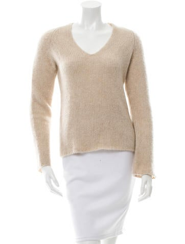 Magaschoni Cashmere V-Neck Sweater None
