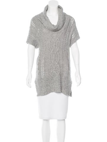 Magaschoni Short Sleeve Cashmere Sweater None