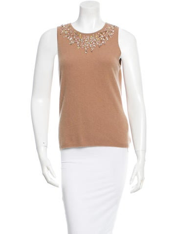 Magaschoni Cashmere Top None