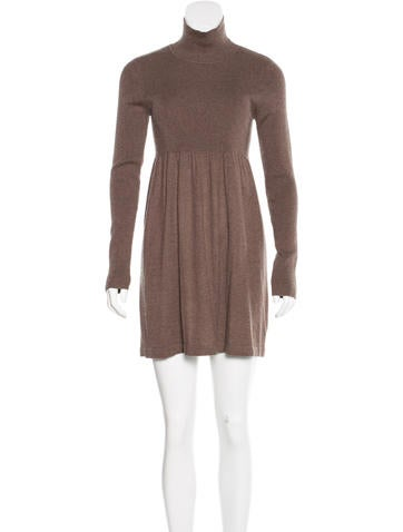 Magaschoni Long Sleeve Sweater Dress None