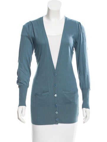 Magaschoni Silk-Cashmere Blend Cardigan None