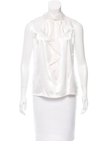 Magaschoni Silk Sleeveless Top w/ Tags None