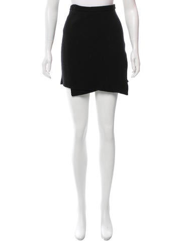 Magaschoni Wool Mini Skirt None