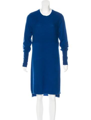 Magaschoni Cashmere Midi Dress None