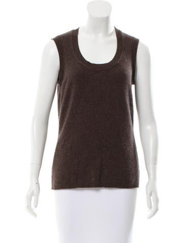 Magaschoni Sleeveless Cashmere Sweater None
