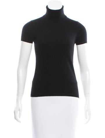 Magaschoni Turtleneck Cashmere Top None