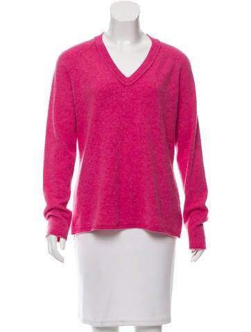 Magaschoni V-Neck Cashmere Sweater None