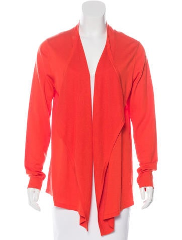Magaschoni Silk & Cashmere-Blend Knit Cardigan w/ Tags None