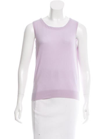 Magaschoni Sleeveless Cashmere Top w/ Tags None