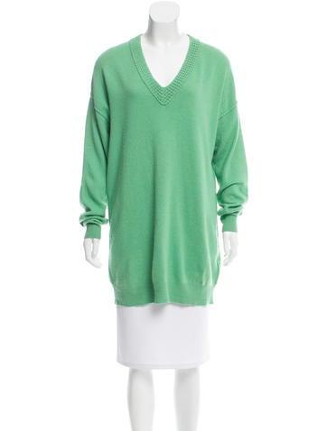 Magaschoni Longline Cashmere Sweater None