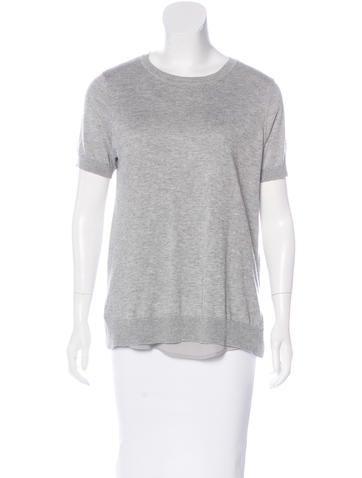 Magaschoni Silk & Cashmere Sweater w/ Tags None