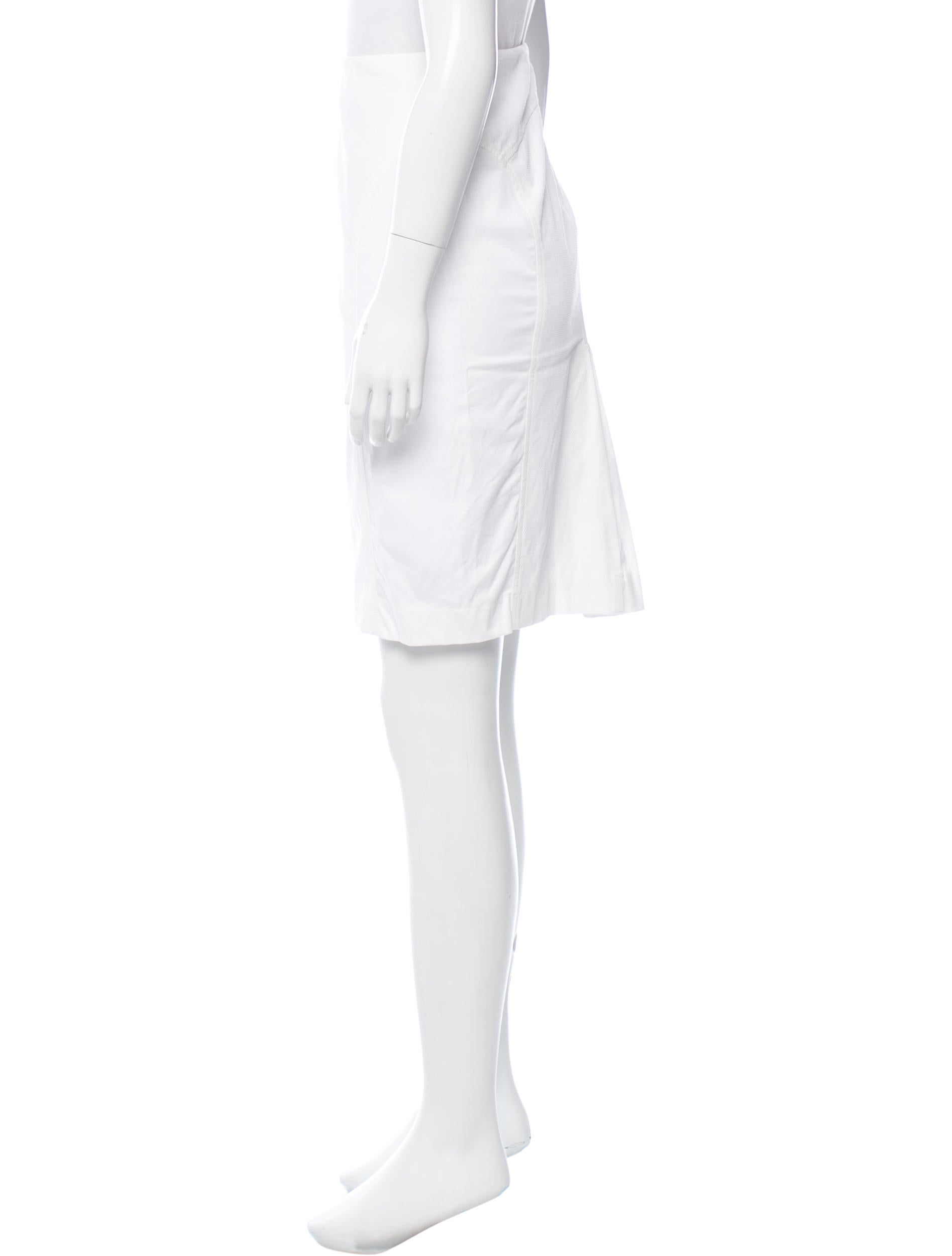 magaschoni knee length pencil skirt clothing wn124529