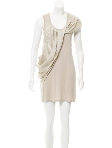 Magaschoni Silk Knit Dress None