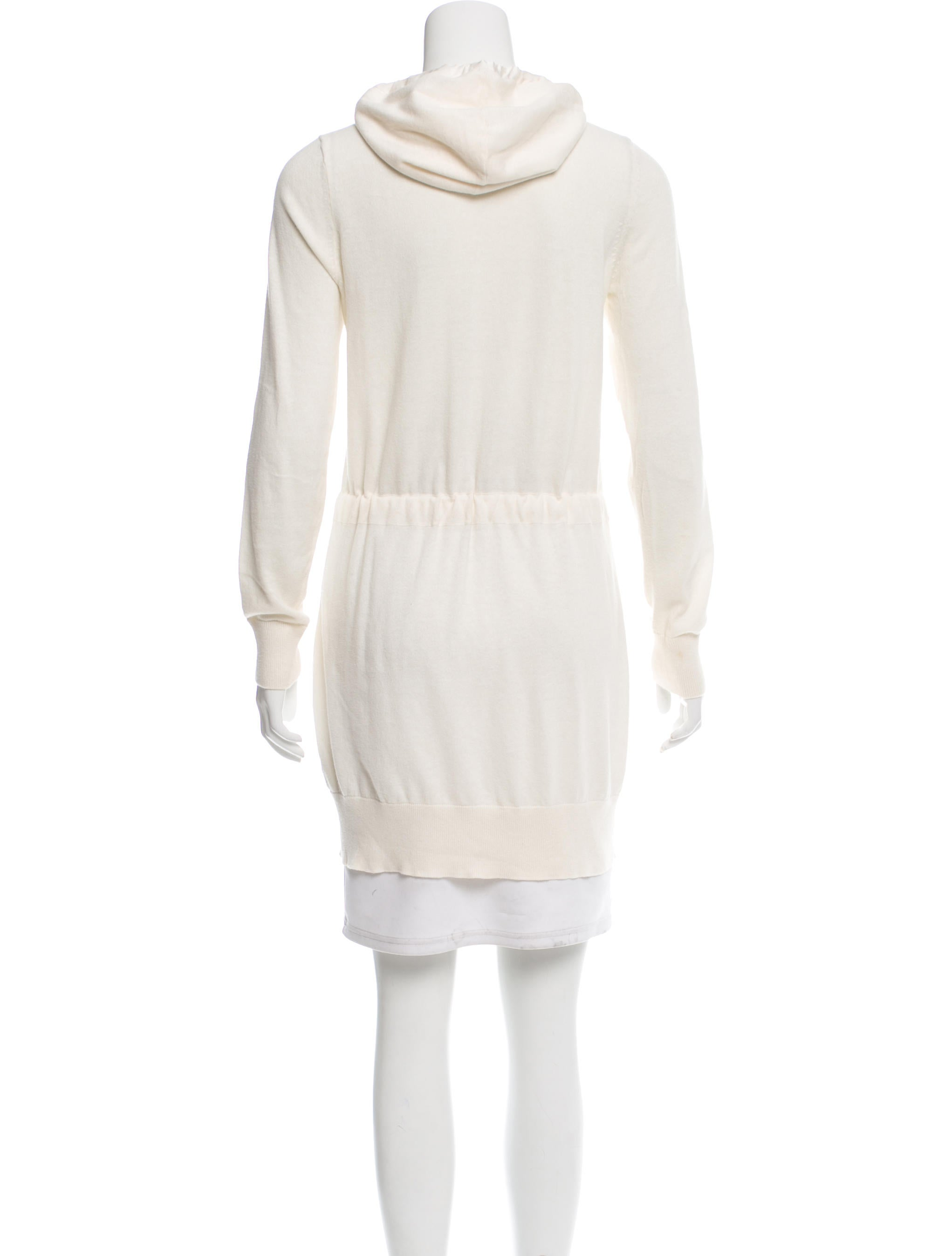 Magaschoni Hooded Knit Cardigan - Clothing - WN124705 ...