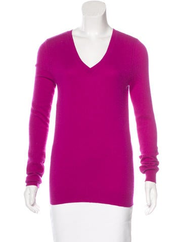 Magaschoni Cashmere Rib Knit Sweater None