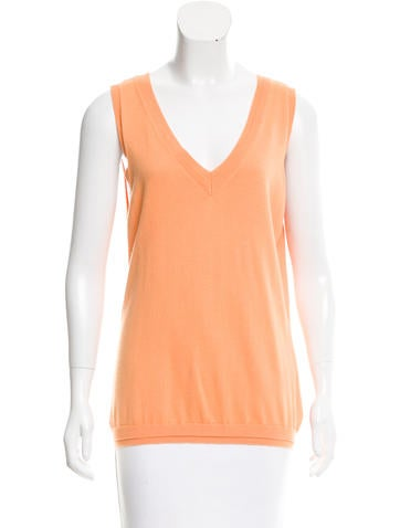 Magaschoni Sleeveless Knit Top None