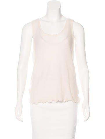 Magaschoni Cashmere Sleeveless Top w/ Tags None
