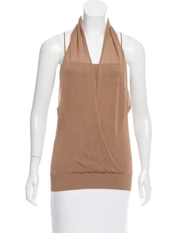 Magaschoni Sleeveless Top None