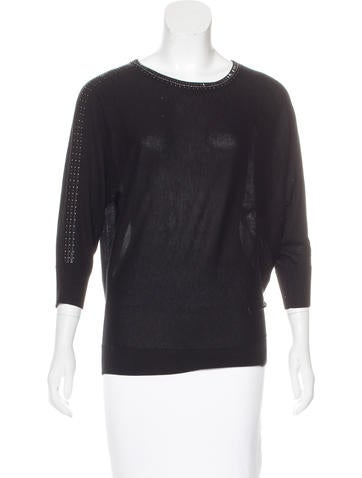 Magaschoni Silk & Cashmere Top w/ Tags None