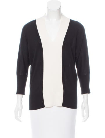 Magaschoni Contrast V-Neck Sweater None