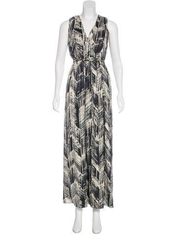 Magaschoni Silk Sleeveless Dress None