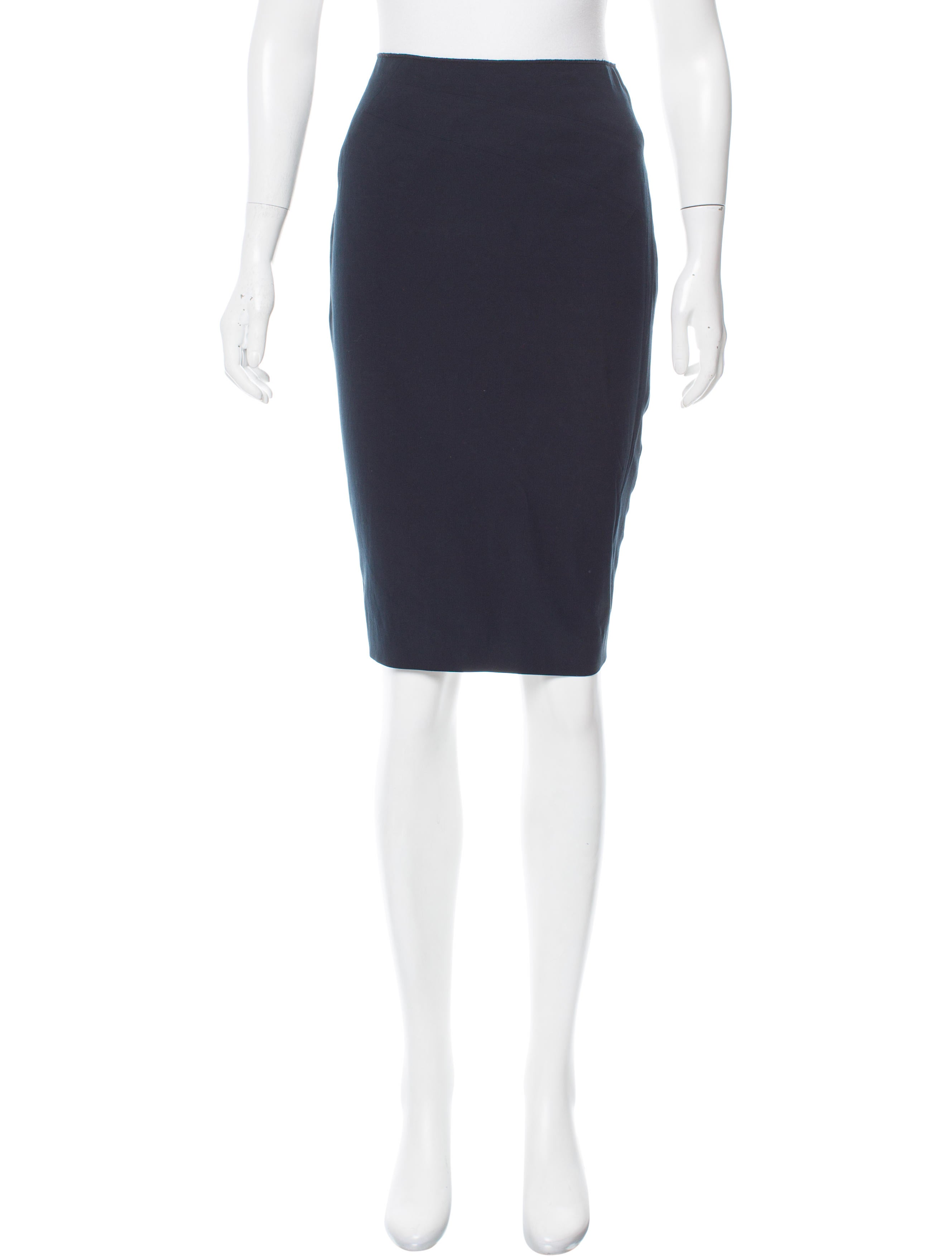 magaschoni knee length pencil skirt clothing wn125376