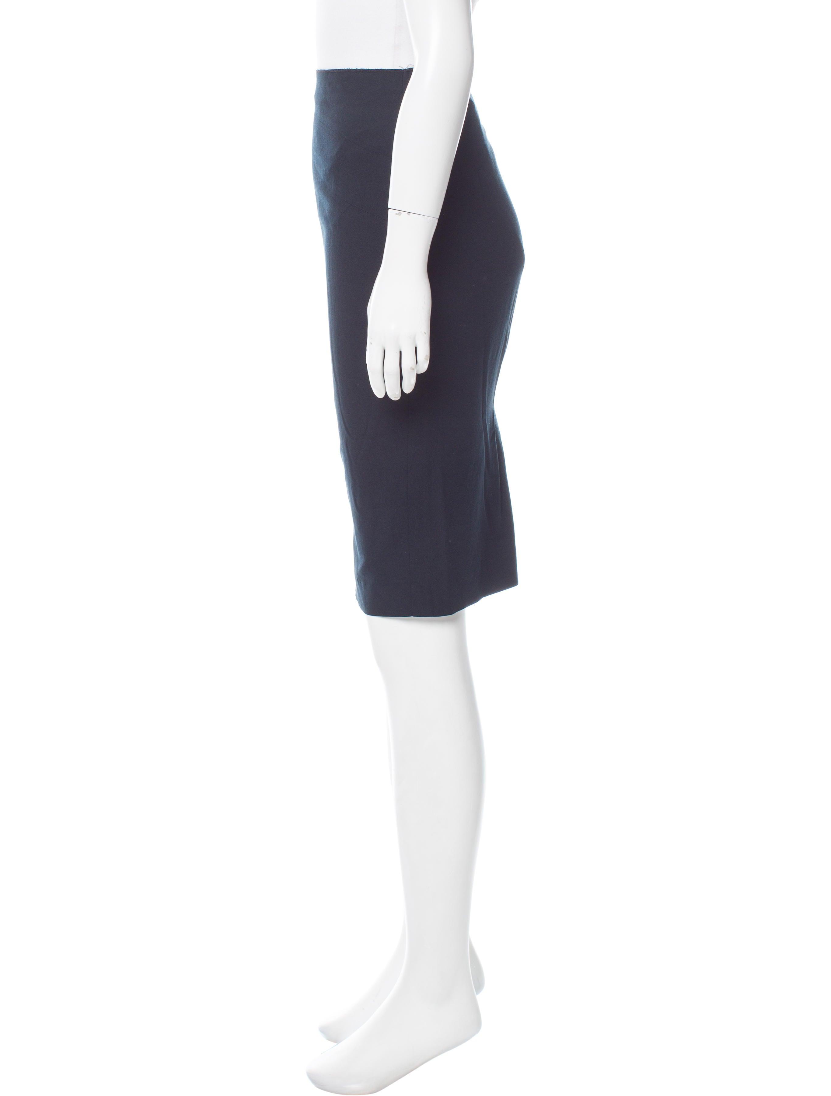 magaschoni knee length pencil skirt clothing wn125376