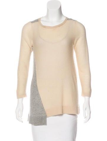 Magaschoni Colorblock Knit Sweater None
