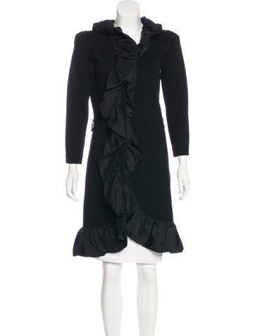 Magaschoni Wool Longline Cardigan None