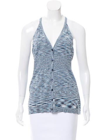 Magaschoni Marled Knit Top None