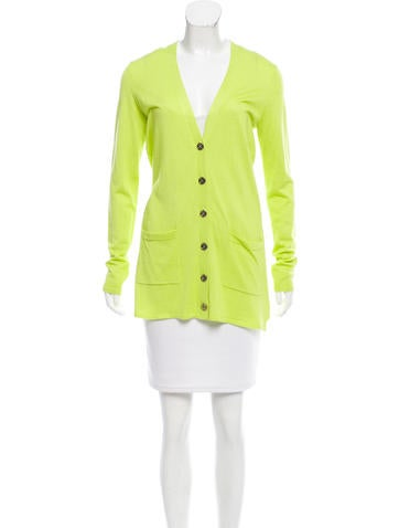 Magaschoni Cashmere & Silk-Blend Cardigan w/ Tags None