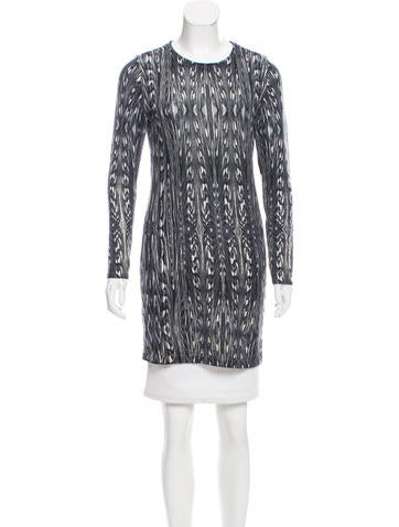 Magaschoni Patterned Cashmere Top None