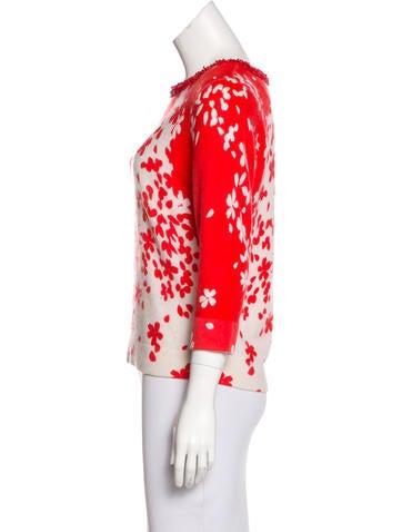 Magaschoni cashmere colorblock dress