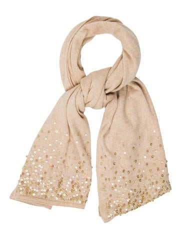 Magaschoni Embellished Cashmere Scarf None
