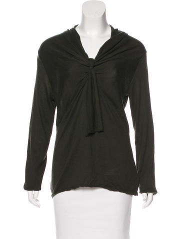 Magaschoni Silk Knit Top None