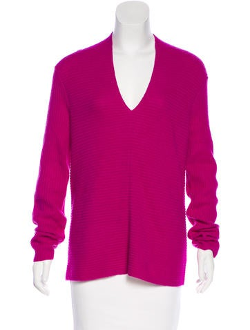 Magaschoni Knit Cashmere Sweater None