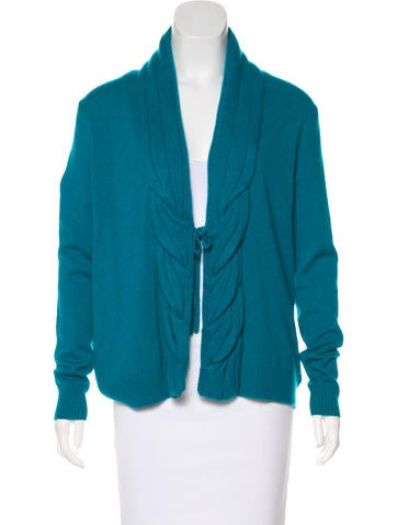 Magaschoni Cashmere Knit Cardigan w/ Tags None