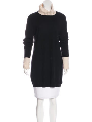 Magaschoni Cashmere Longline Sweater None
