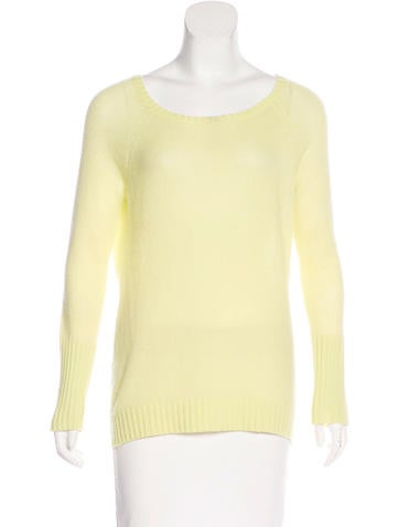 Magaschoni Cashmere Long Sleeve Sweater None