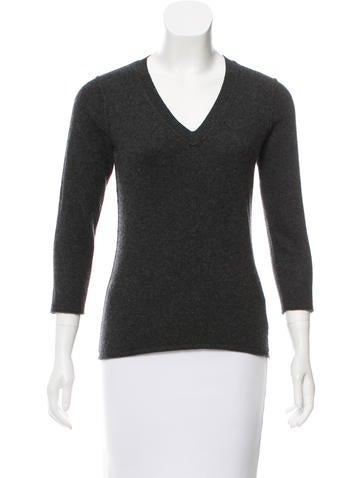 Magaschoni Cashmere Knit Sweater None