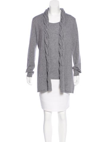 Magaschoni Cashmere Cardigan Set None