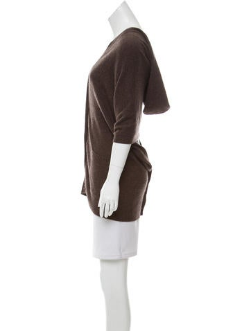 Hooded Cashmere Poncho