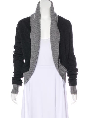 Magaschoni Cashmere Knit Cardigan None